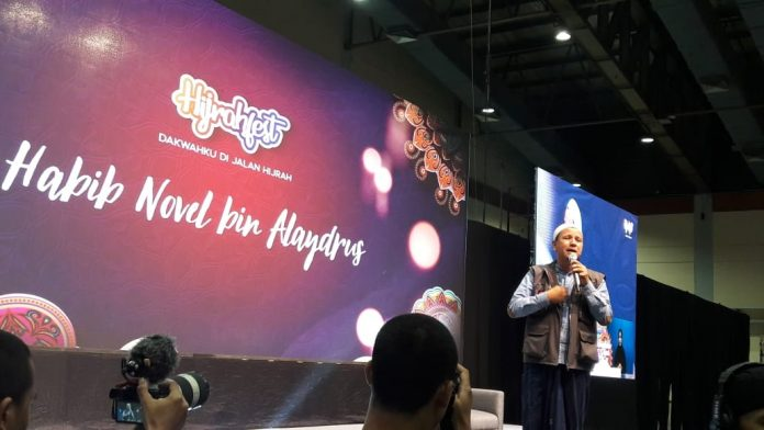 Habib Novel Alaydrus di Hijrah Fest: Dakwah Model Begini Harus Dikembangkan