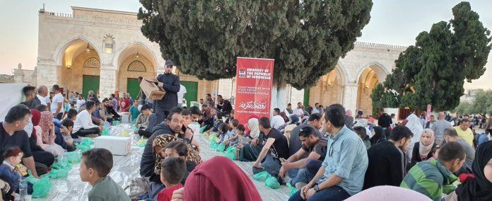 KBRI Amman Gelar Buka Puasa Dengan Pengungsi Palestina