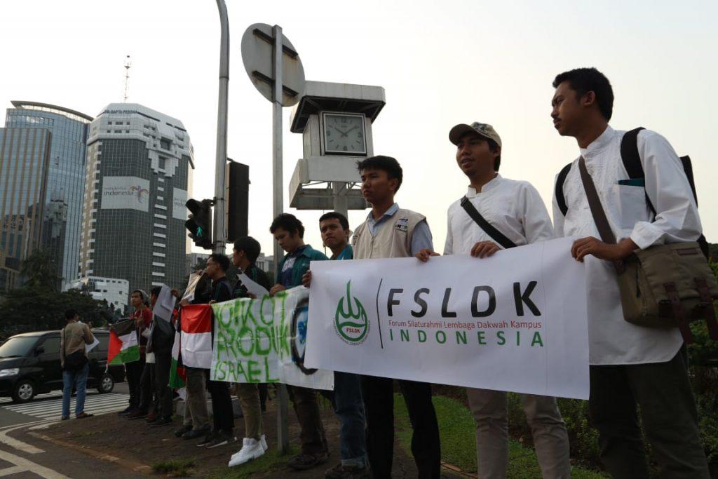 Peduli Gaza, FSLDK Indonesia Gelar Aksi Simpatik dan Penggalangan Dana