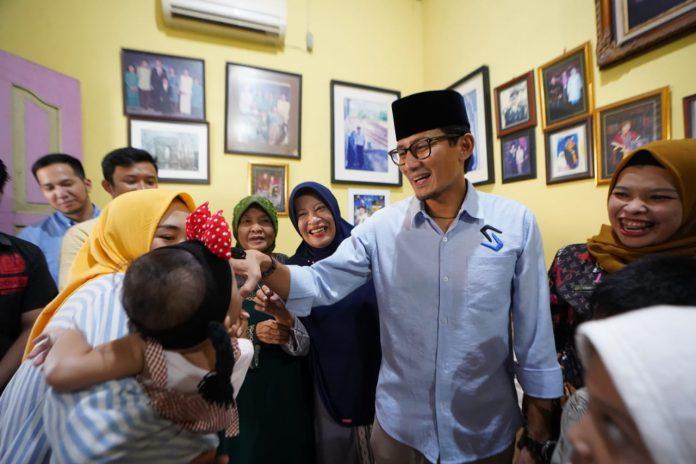 Layat Pejuang Demokrasi, Sandi Harap Penyelenggaraan Pemilu Diperbaiki