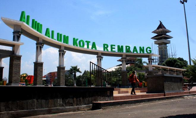 Alun-alun Kota Rembang. (Foto: Kompasiana)