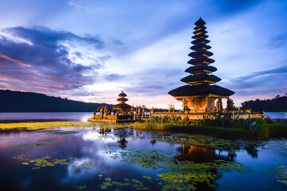 Danau Beratan Bedugul, Bali.
