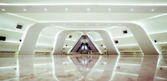 Desain Masjid Al Safar karya Ridwan Kamil