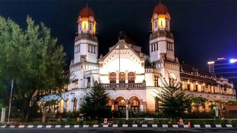 Lawang Sewu, Semarang.