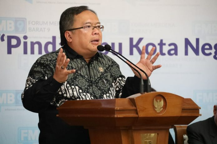 Bambang Brodjonegoro Sebut Pemindahan Ibu Kota Negara Dapat Atasi Ketimpangan