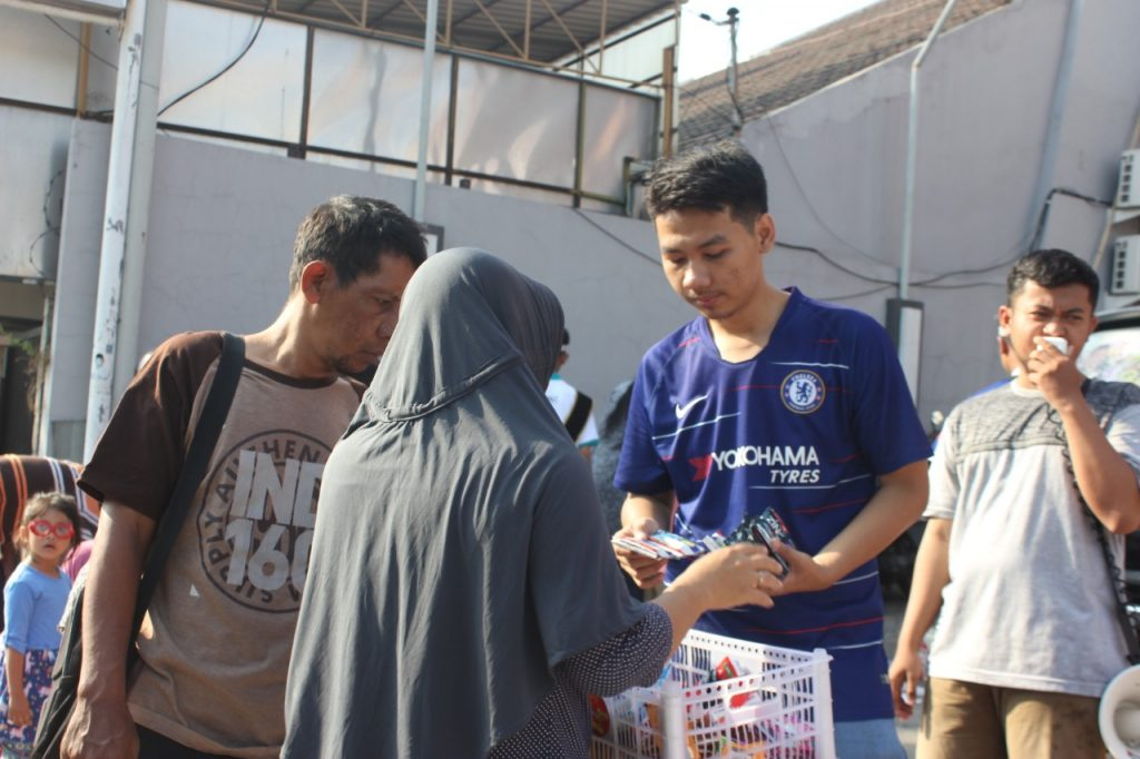 Bazar Amal ACT Ajak Warga Surabaya Bantu Korban Gempa Halmahera Selatan