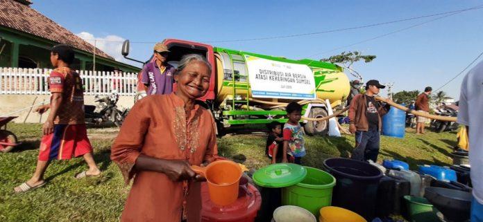 Ratusan Ribu Liter Air Didistribusikan ACT di Awal Kemarau Tahun Ini