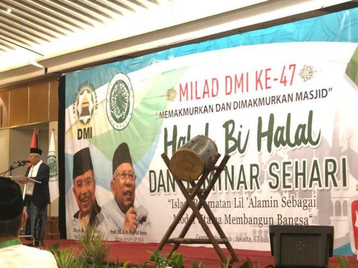 Rekomendasi Dewan Masjid Indonesia Pasca Pilpres 2019