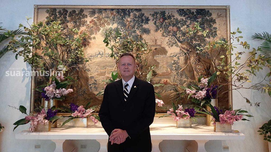 Achim v Hake, General Manager The Sherwood Taipei. Foto Muhammad Nashir