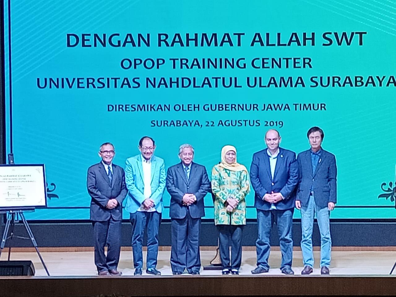 Dukung OPOP di Jatim, Unusa Resmikan 'Center of Humane Entrepreneur Development'