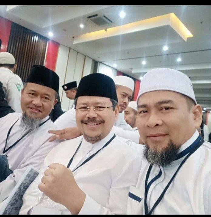 Jubir Eks HTI, Ismail yusanto dalam Ijtima ulama IV di Sentul-bogor