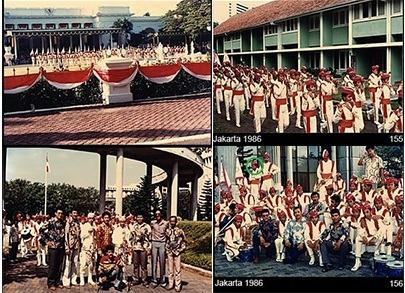 Parade Senja Bersama Drum Band Pramuka Al Irsyad Surabaya