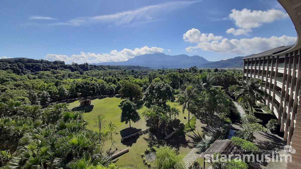 Pemandangan dari Luminous Hot Spring Resort & Spa di Luye Taitung.