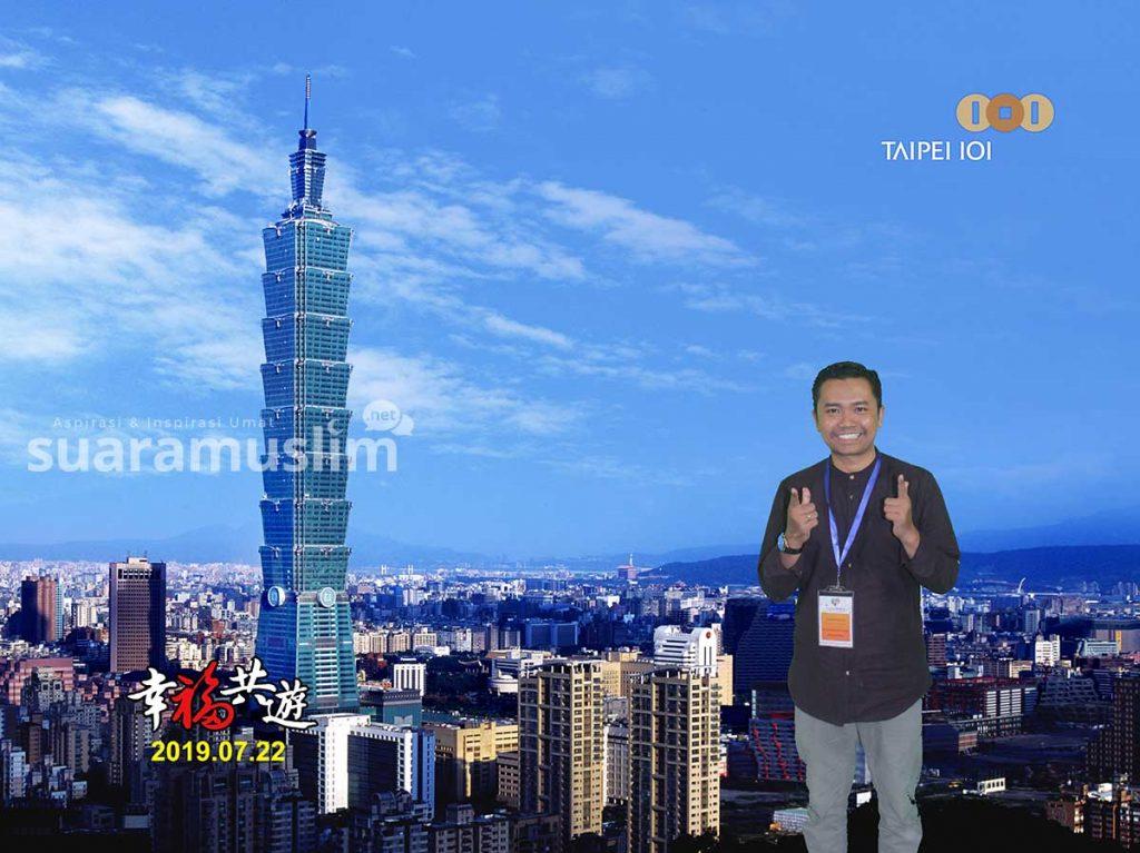 Taipei 101, Sistem Mega Struktur di Negara Pusat Gempa.