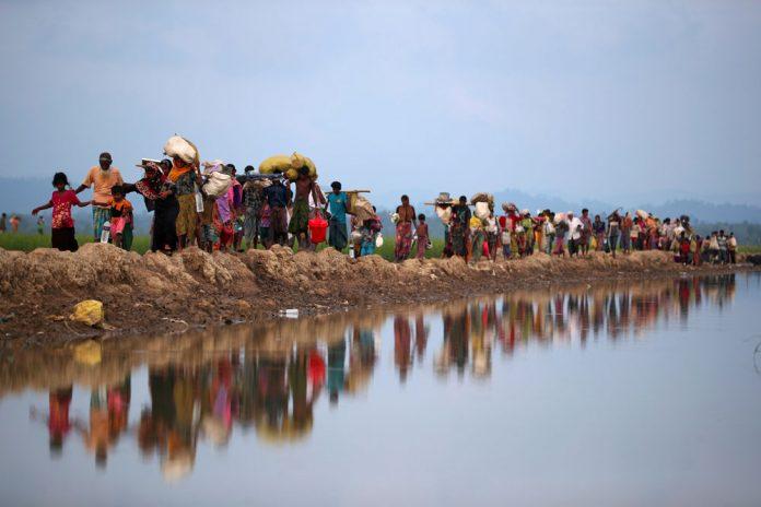 PBB Mendesak Myanmar Selesaikan Krisis Pengungsi Rohingya