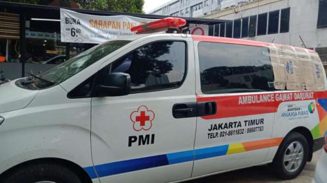 Disebut Bawa Batu dalam Ambulans Untuk Suplai Pendemo, PMI Jaktim Kami Dipukul