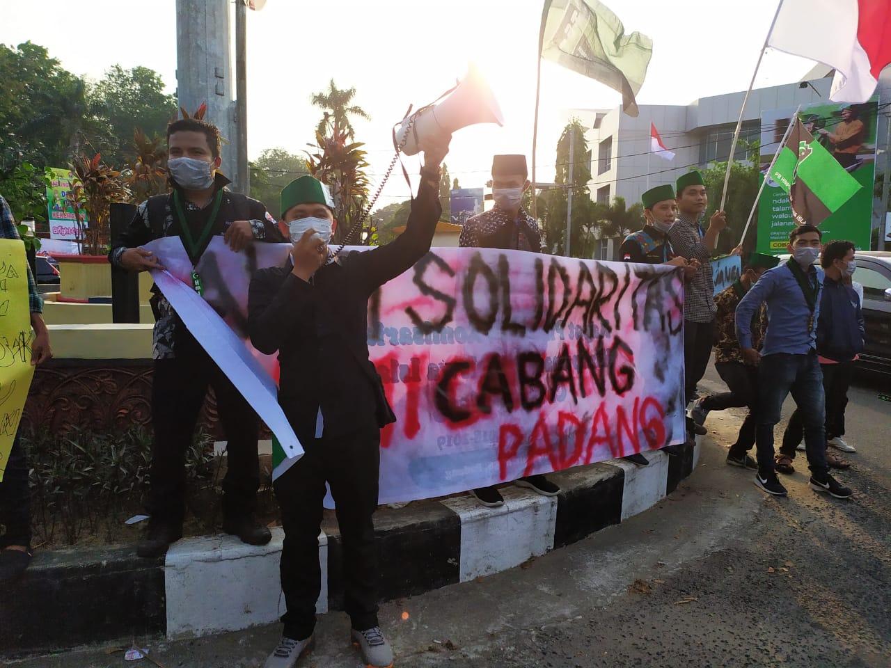 HMI Padang Galang Dana Untuk korban Asap Riau