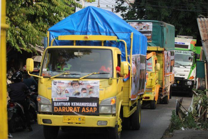Kirimkan Ribuan Ton Bantuan Logistik, ACT Siap Layani Korban Kabut Asap di Riau