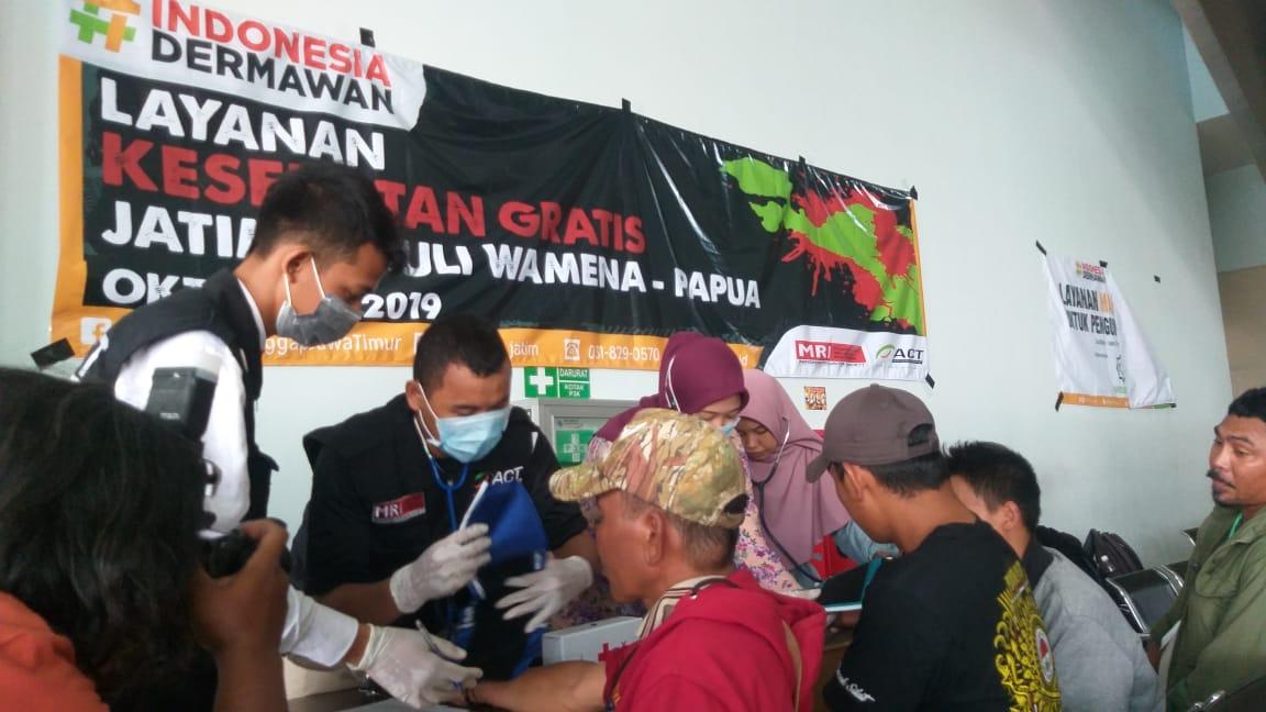 519 Penyintas Wamena Asal Jatim Tiba di Tanjung Perak Surabaya