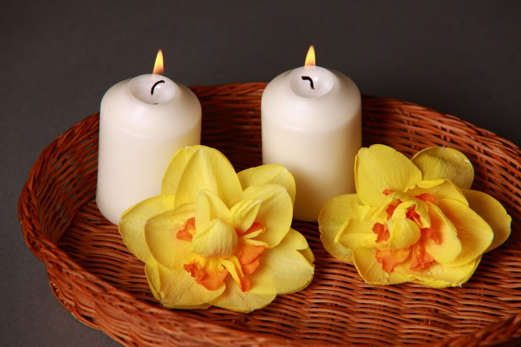 Lilin aromaterapi.