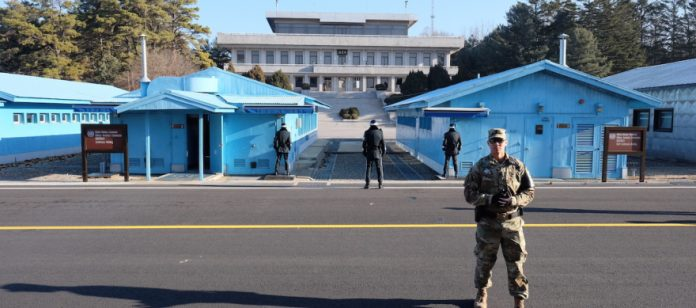 Meng-aus-khazraj-kan Korea Utara dan Korea Selatan