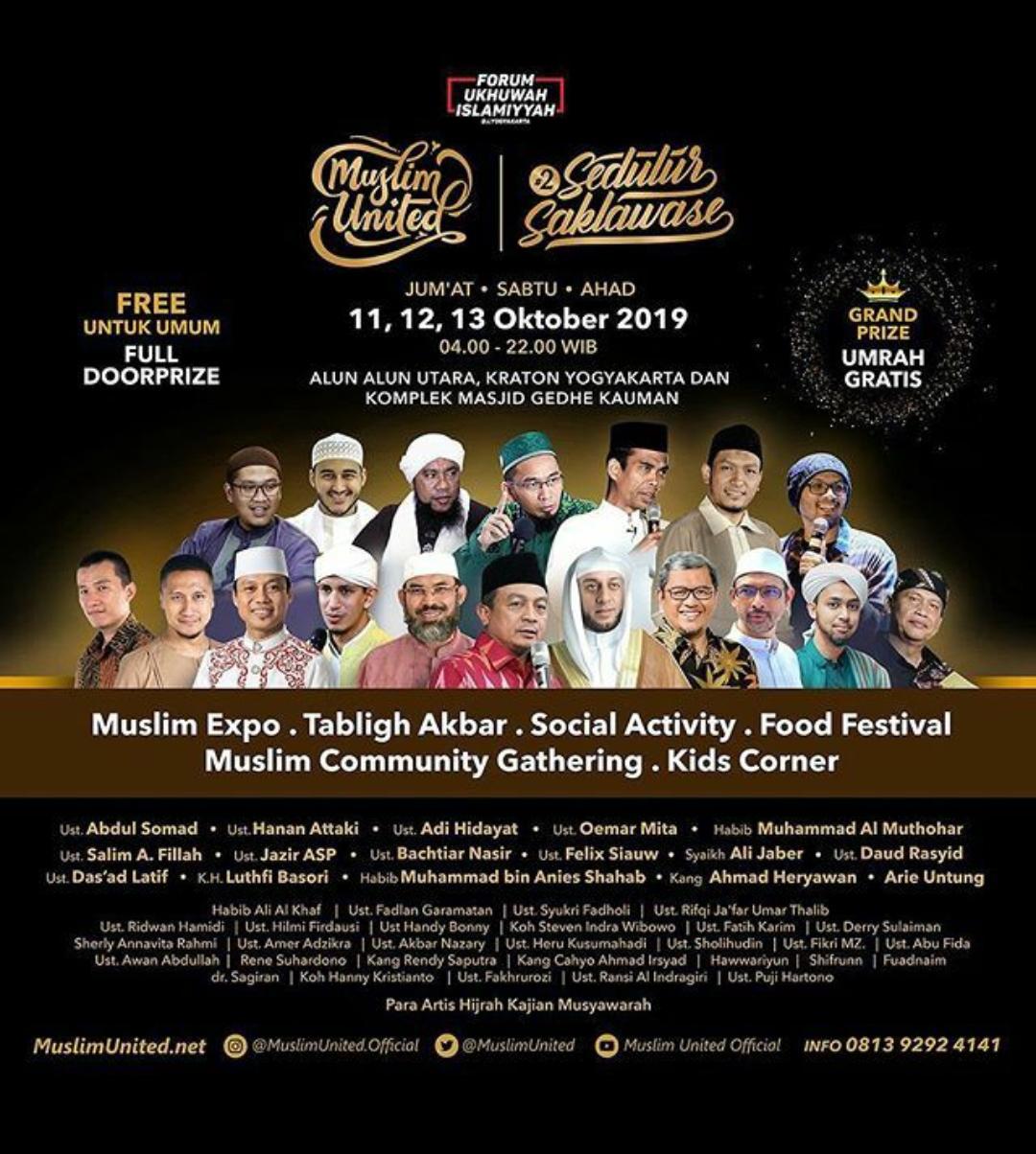 Muslim United dan Warisan Dakwah para Sultan