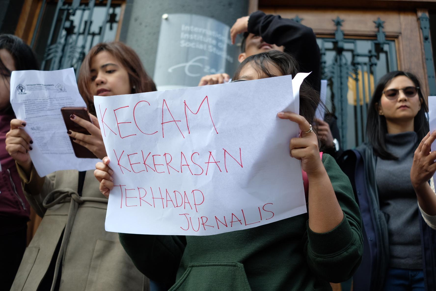 PPI Belanda Kecam Tindakan Kekerasan Aparat kepada Mahasiswa dan Jurnalis