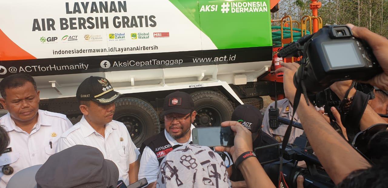 Perluas Jangkauan Distribusi Air Bersih, ACT Luncurkan Water Truck