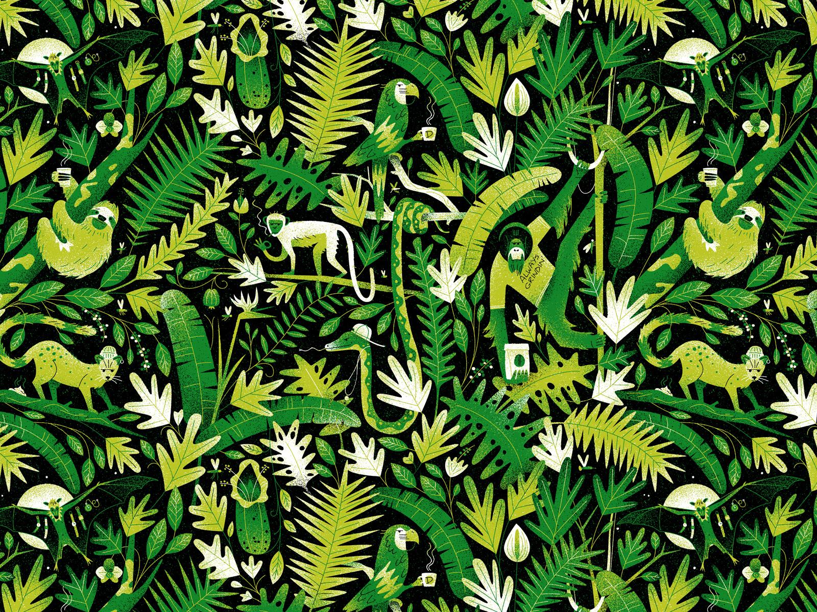 41+ Gambar Ilustrasi Hewan Di Hutan HD Terbaik