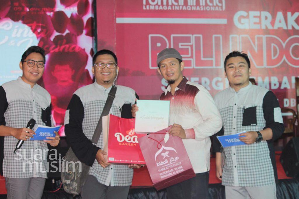 Ini Keseruan Dialog Pra Nikah Radio Suara Muslim di DBL Arena Surabaya