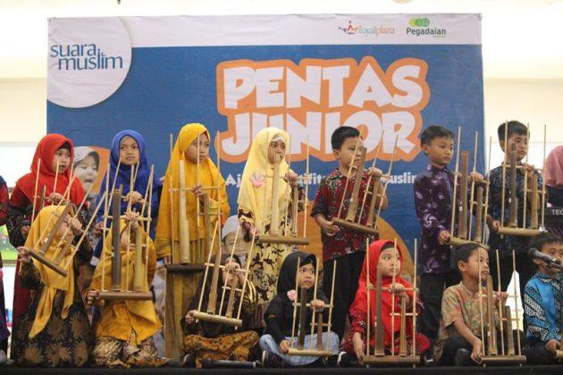 Pentas Junior Suara Muslim Goes to Royal Plaza Surabaya