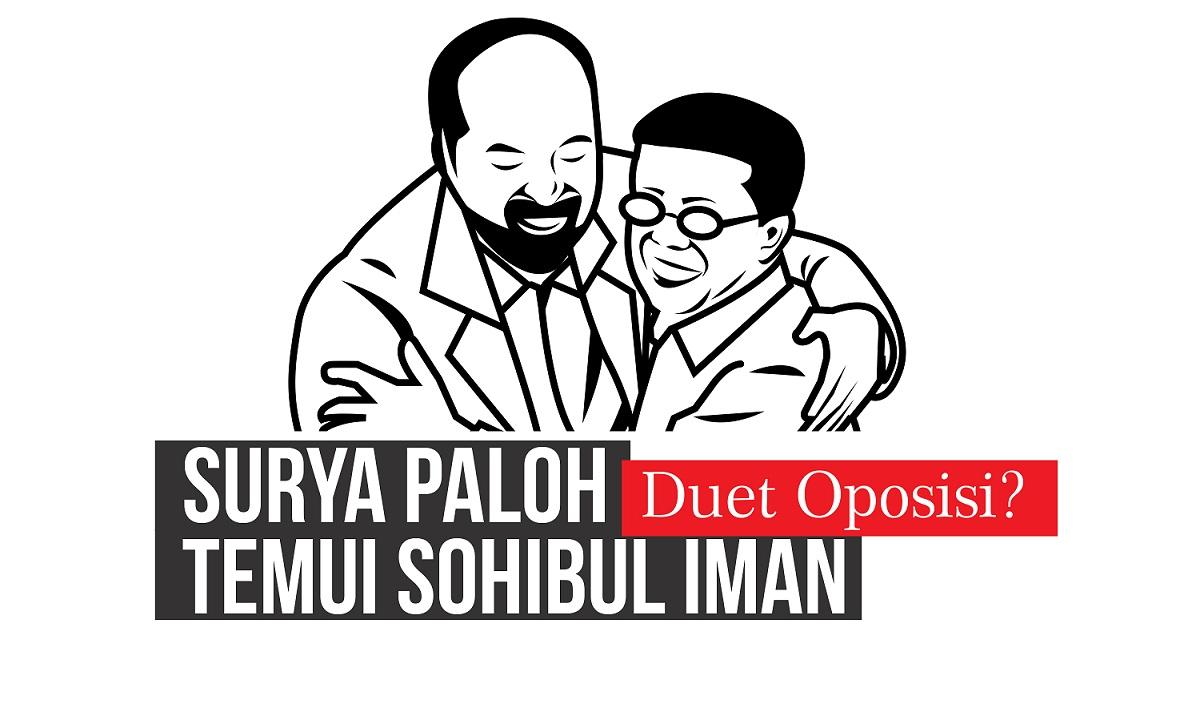 Surya Paloh Temui Sohibul Iman, Duet Oposisi?