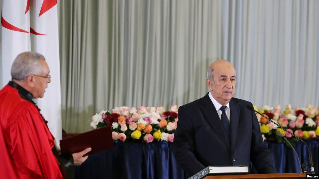 Abdelmadjid Tebboune Resmi Dilantik Jadi Presiden Aljazair