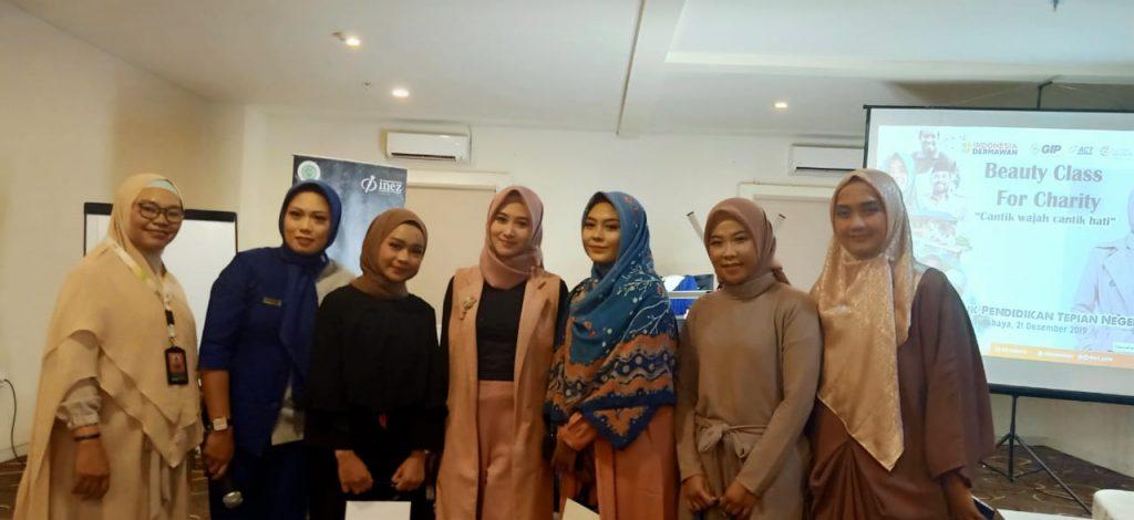 Berbagi untuk Tepian Negeri di Beauty Class for Charity ACT