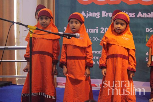 Pentas Junior Radio Suara Muslim Surabaya