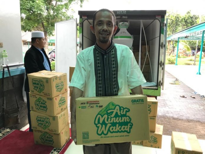 Air Minum Wakaf dari Global Wakaf-ACT
