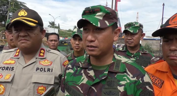 Dandim 0609 Imbau Warga Saling Bantu dalam Bencana Banjir Bandung Barat