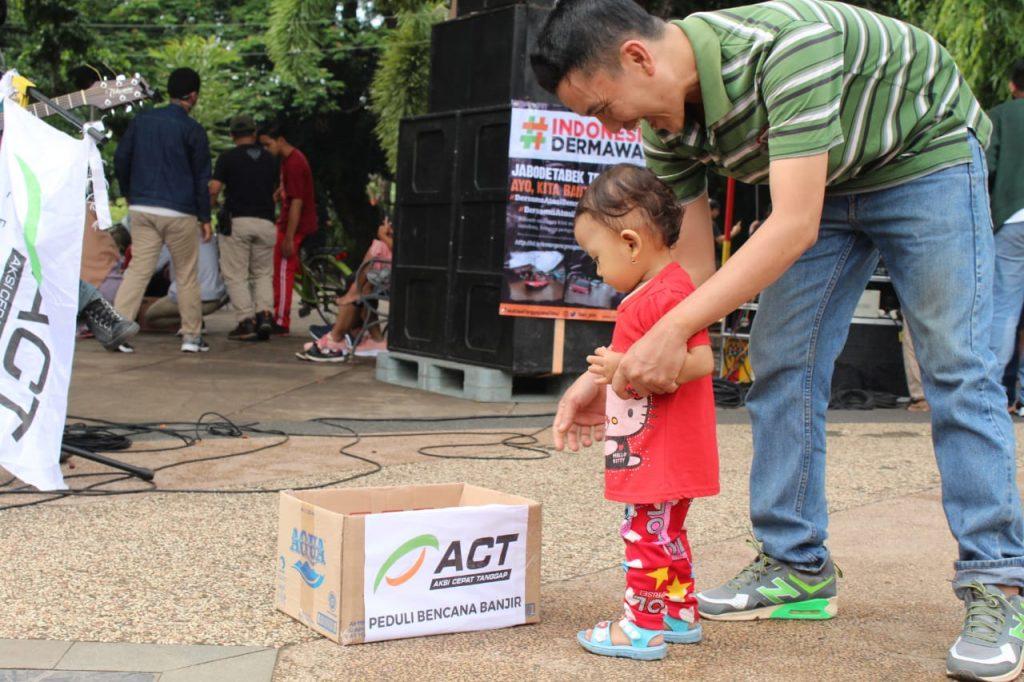 Konser Amal Jalanan Bantu Korban Banjir Jabodetabek-Banten