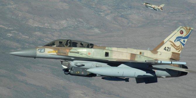 Pesawat Tempur Zionis Israel Serang Pangkalan Hamas di Gaza