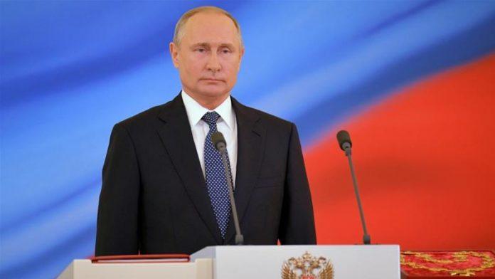 Putin Dilantik Sebagai Presiden Rusia untuk Keempat Kalinya