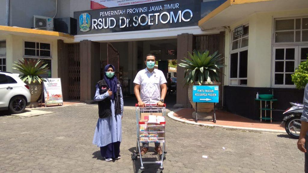 Bantuan untuk tenaga medis dari Act Jatim