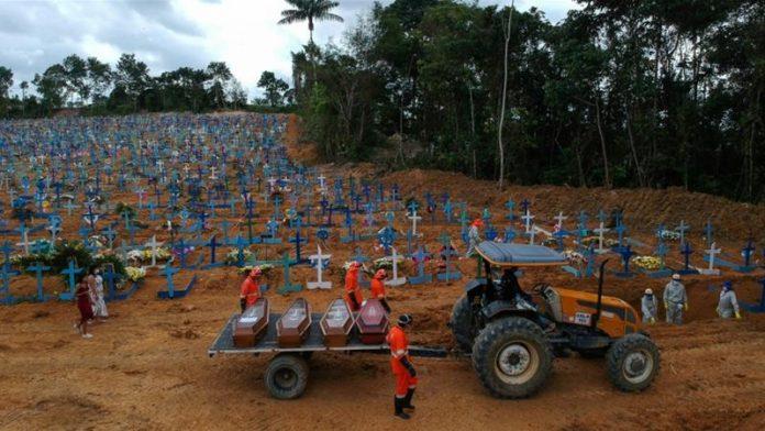 WHO Corona Menyebar Cepat di Beberapa Negara Amerika Latin