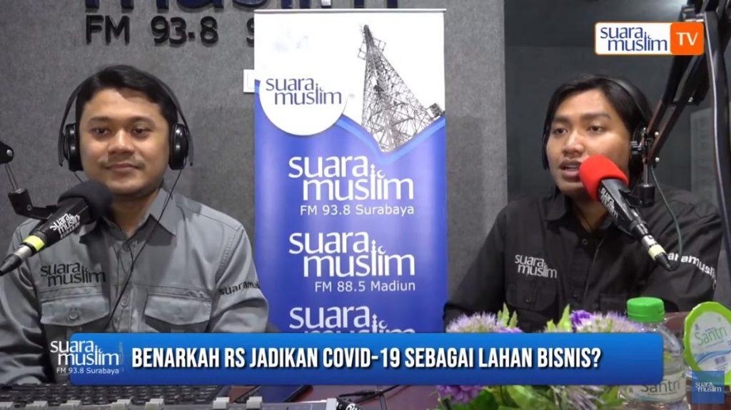 Benarkah RS Jadikan Covid-19 Sebagai Lahan Bisnis
