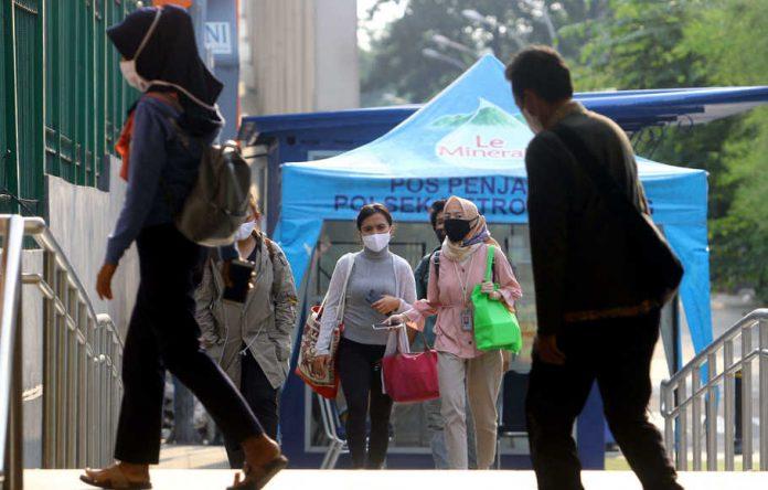 Masa Transisi New Normal Jakarta