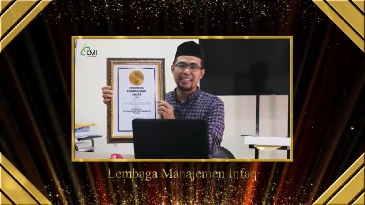 Laznas LMI Raih Penghargaan Fundrising Penggalangan Dana Langsung Terbaik Nasional